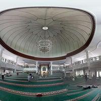 Photo taken at Masjid Agung Syi'arul Islam by Dekki K. on 3/25/2016