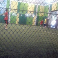 Photo taken at Star Futsal by Nicky C. on 10/21/2013