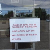 Photo taken at Camelot Bowl by Frank M. S. on 7/2/2017