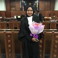 Photo taken at Malaya High Court Jalan Duta by Hannah on 8/18/2016