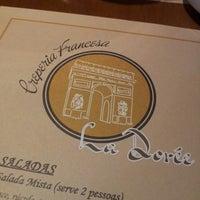 Photo taken at Creperia Francesa La Dorée by Gabriela B. on 2/8/2014