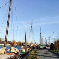 Photo taken at Museumshafen Greifswald by Claudia S. on 12/27/2016