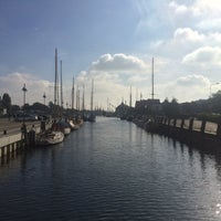 Photo taken at Museumshafen Greifswald by Claudia S. on 9/3/2016