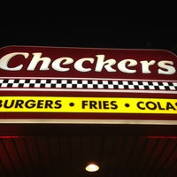 Photo taken at Checkers by Christian M. on 4/1/2013