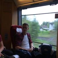 Photo taken at Rygge stasjon by Jonas D. on 9/8/2016