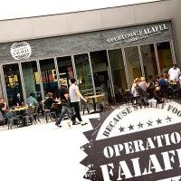 Photo taken at Operation:Falafel by Operation:Falafel on 3/30/2014
