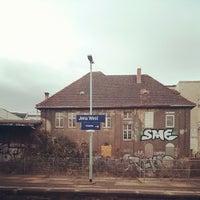 Das Foto wurde bei Bahnhof Jena West von Martin v. am 12/19/2013 aufgenommen