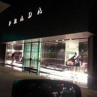 Photo taken at Prada by Julius N. on 2/11/2013