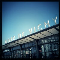 Photo taken at Gare SNCF de Vichy by Pat D. on 3/4/2013