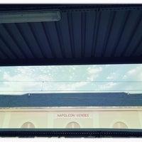 Photo taken at Gare SNCF de La Roche-sur-Yon by Patrice D. on 10/26/2016