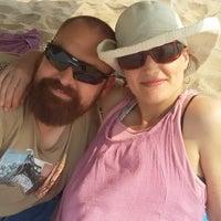 Photo taken at Amanzimtoti Main Beach by Elmarie S. on 9/24/2014