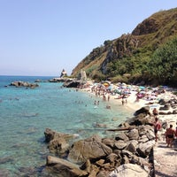 Photo taken at Spiaggia Michelino by Chantal G. on 8/14/2014