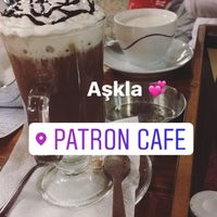 Photo taken at Patron Cafe by Ugur B. on 3/21/2017