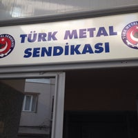 Photo taken at Türk Metal Sendikası by MERVE 👑 on 3/17/2016