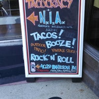 Photo taken at Tacocracy by Fred N. on 9/14/2013
