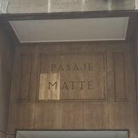 Photo taken at Pasaje Matte by Manu F. on 5/12/2016