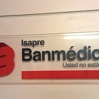 Photo taken at Isapre Banmédica by Manu F. on 7/12/2017