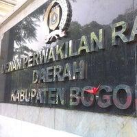 Photo taken at Pemda Kab. Bogor by Poetra Oetama B. on 5/20/2015