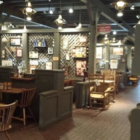 Photo taken at Cracker Barrel Old Country Store by Hallie B. on 8/28/2014