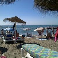 8/7/2013에 Jesus N.님이 Playa de la Carihuela에서 찍은 사진