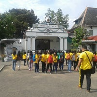 Photo taken at Bangsal Srimanganti Kraton Yogyakarta by Hilmar A. on 10/25/2013