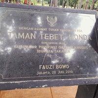 Photo taken at Taman Hutan Tebet by Hilmar A. on 1/7/2018