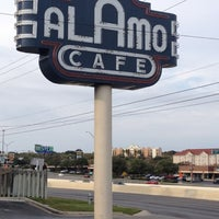 Photo taken at Alamo Cafe by Terika K. on 11/23/2012