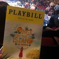 10/4/2018 tarihinde Jimin L.ziyaretçi tarafından Circle in the Square Theatre'de çekilen fotoğraf