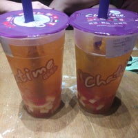 Photo taken at Chatime by Christine C. on 7/27/2014