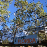 Photo taken at Forever Florida Zipline Safari by Sarah S. on 1/19/2016