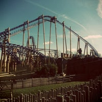 Photo taken at Flamingo Land by Mandy C. on 3/31/2013