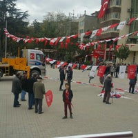 Photo taken at Cumhuriyet Meydanı by Cenk N. on 10/31/2015