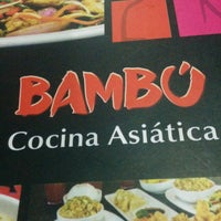 Photo taken at Bambu Asian Fast Food by Iván S. on 11/30/2014