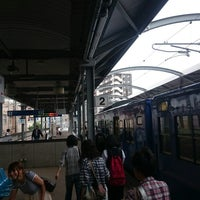 Photo taken at 佐世保駅 1-2番ホーム by つじやん 7. on 9/19/2014
