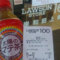Photo taken at Lawson Store 100 by つじやん on 9/16/2012
