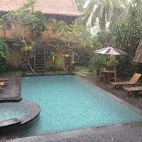 Photo taken at Wenara Bali Bungalow by Celia N. on 7/2/2014