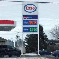 Photo taken at Esso by Jade N. on 2/7/2016