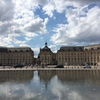 Photo taken at Place Jean Jaurès by Cathy H. on 9/3/2015