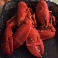 Photo taken at Trenton Bridge Lobster Pound by Cathy H. on 9/26/2014