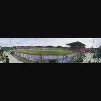 Photo taken at Gelora Bumi Kartini Stadium by Hendrik P. on 12/15/2016
