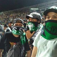 Photo taken at Gelora Bumi Kartini Stadium by Hendrik P. on 12/10/2016