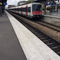 Photo taken at Aulnay-sous-Bois Railway Station by Chibi N. on 5/25/2014