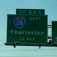 Photo taken at Malfunction Junction (I-20 & I-26) by Todd D. on 10/6/2012