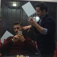 Photo taken at hair show bülent  erkek kuaförü by Emre Ç. on 1/23/2017