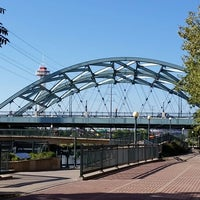 Photo taken at Confluence Park by Brian H. on 9/15/2014