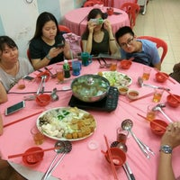 Photo taken at Restaurant Ho Ho Steamboat (好好海鲜火锅之家) by Ong Xiang 😎 王. on 1/4/2017