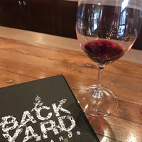 Photo taken at Backyard Vineyards by Ian R. on 12/9/2016