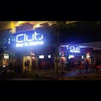Photo taken at T-club Bar & Bistro by Dalminder S. on 6/7/2014