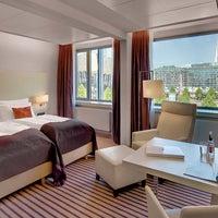 Das Foto wurde bei Radisson Blu Hotel Leipzig von EVENT Hotels am 4/1/2014 aufgenommen