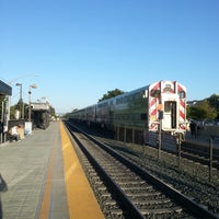 Photo taken at Mountain View Caltrain Station by Alexander K. on 5/11/2013